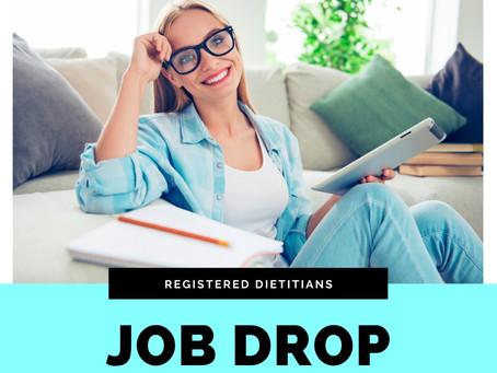 Job Drop for Dietitians 12/2