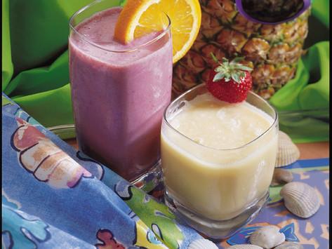 Pinaepple-Orange-Banana Fruit Smoothy