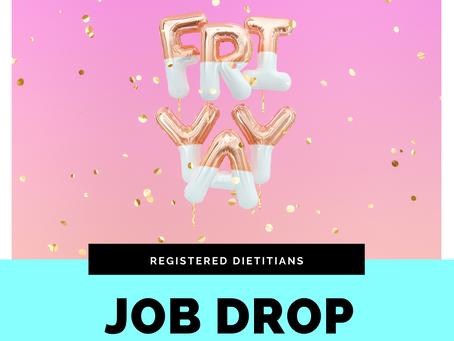 February Registered Dietitian Jobs