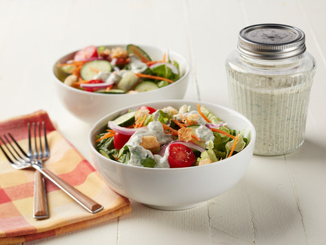 Tofu Ranch Dressing with Fresh Chives: Austina Smith