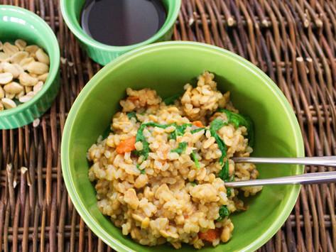 Tempeh Rice Bowl