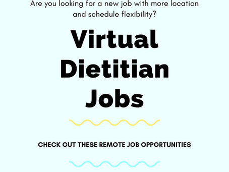 5 Virtual Dietitian Jobs (Now Hiring)