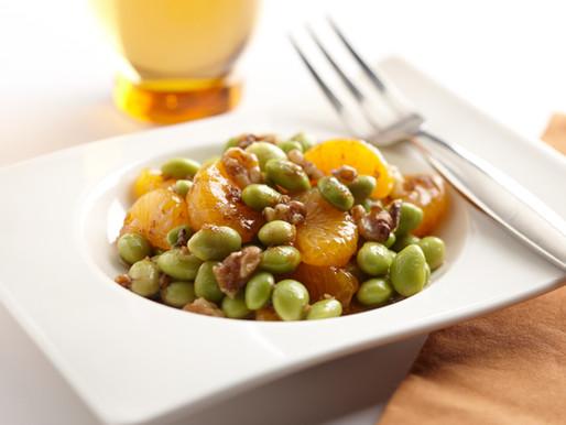 Edamame and Walnut Salad