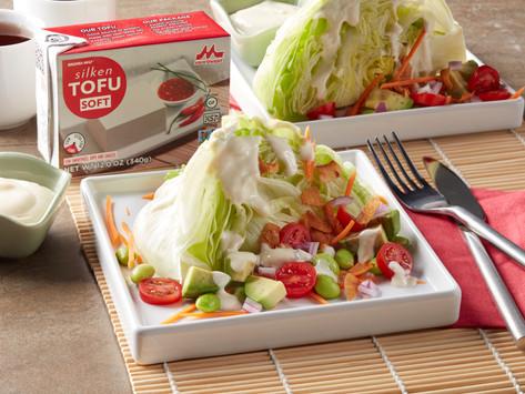 Sweet Garlic Wasabi Tofu Dressing