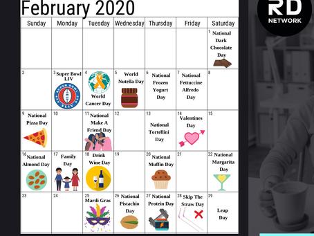 Your February 2020 Content Calendar