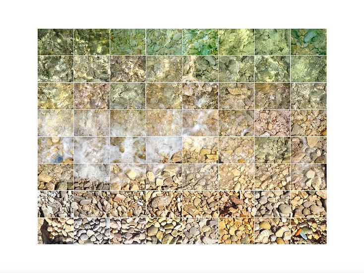 Pebble beach - Large print