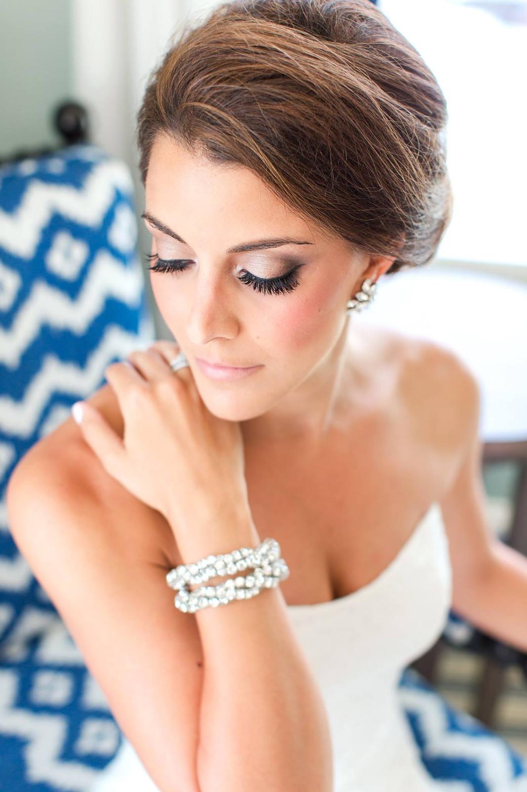 Glam wedding makeup artist in Boston