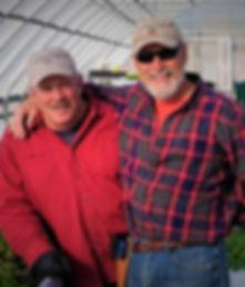 Scott and Rick at Farm December 2017 - 2