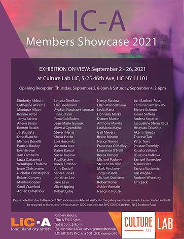 LICA Members Showcase 2021