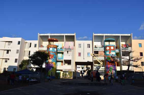 Jober et Poes street art - Le Port - R