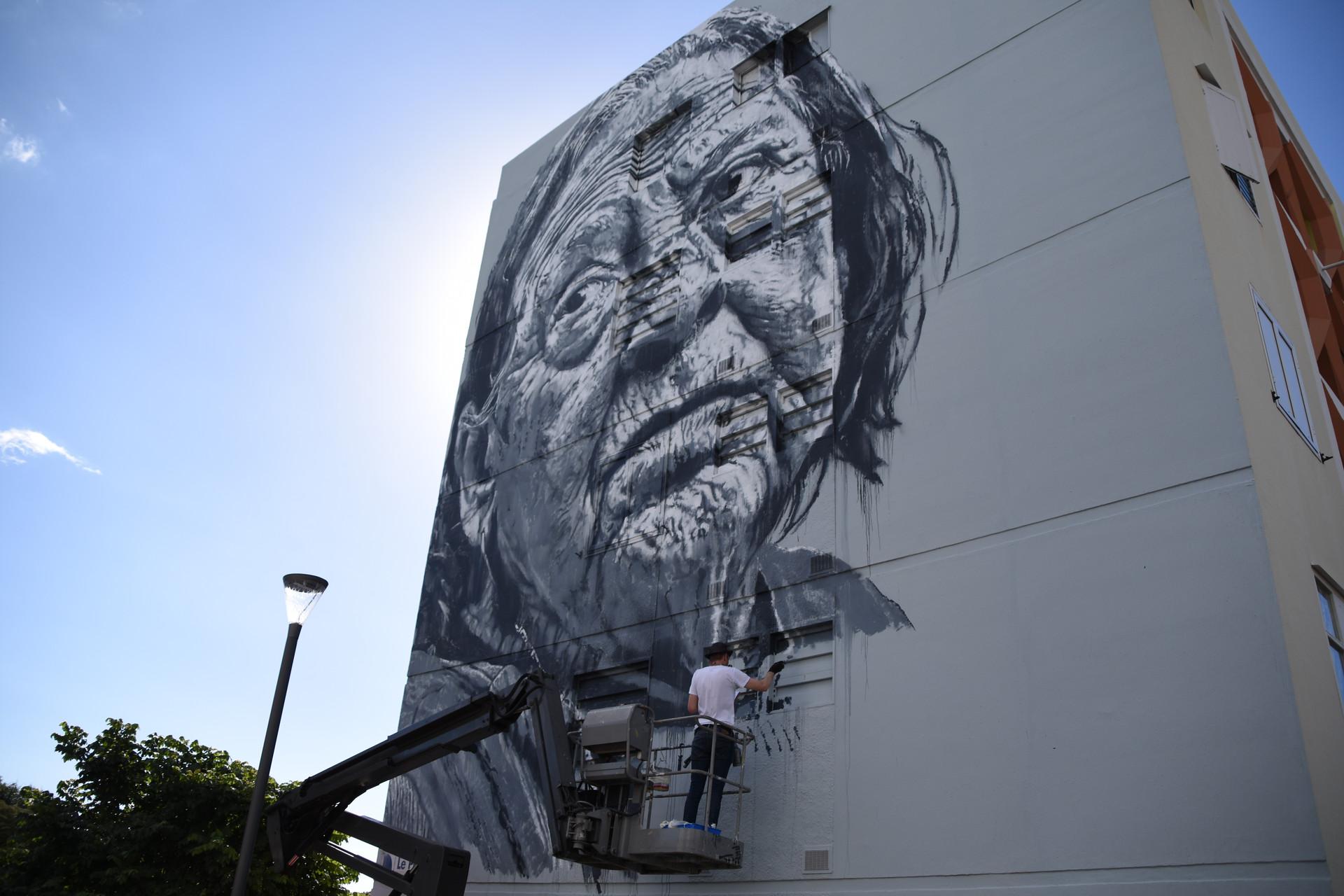 ECB street art