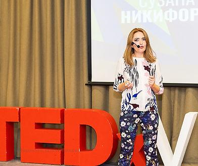 TED Talk Image Suzana P. Nikiforova
