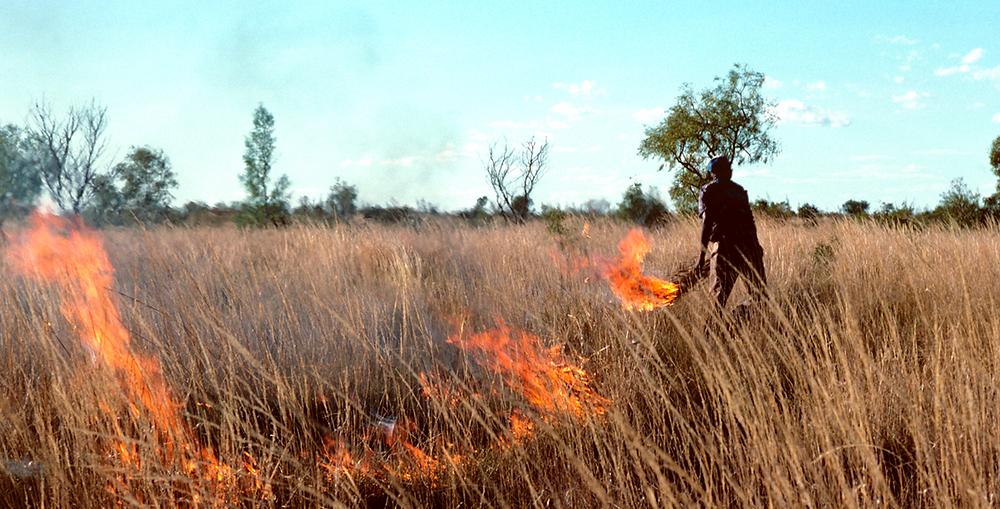 Controlled Burn in Australia