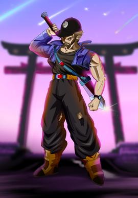 Illustration représentation manga Dragon Ball Z
