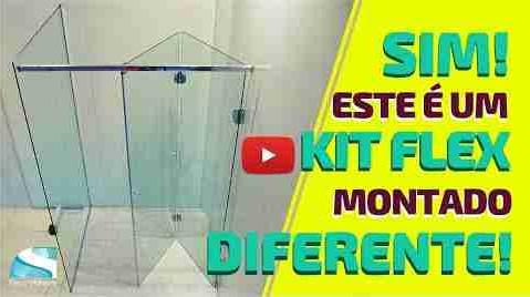Montagem diferente do Kit Box Flex da Ideia Glass!