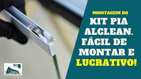 Montagem do Kit Pia Alclean - Fácil de montar e lucrativo