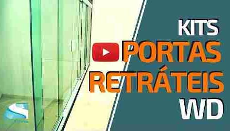 Mais Kit Porta Retrátil WD