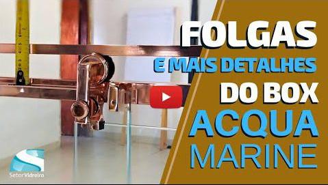 Box Acqua Marine, folgas e outros detalhes