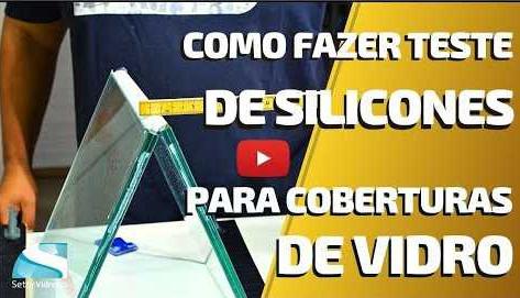 Como fazer o teste de silicones para telhados de vidro