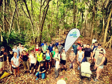 Great Northern Cleanup Christmas Island