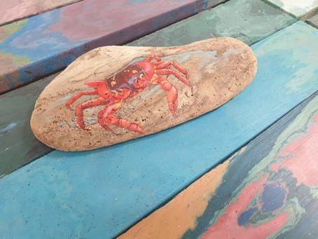 Greta driftwood artwork