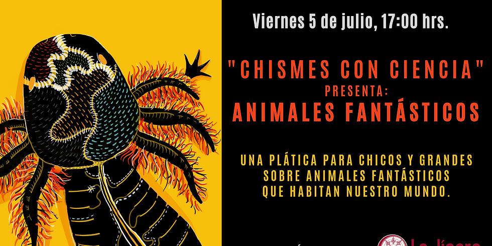 """""""CHISMES CON CIENCIA"""" presenta: ANIMALES FANTÁSTICOS"""