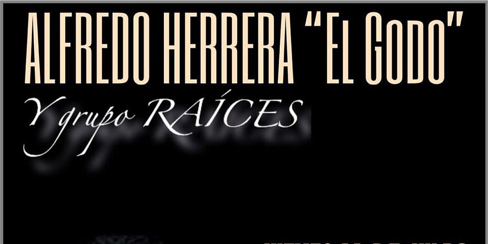 """ALFREDO HERRERA """"EL GODO"""" y GRUPO RAÍCES"""