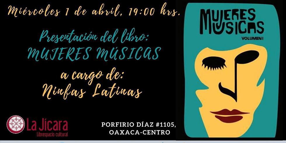 Presentación del libro MUJERES MÚSICAS