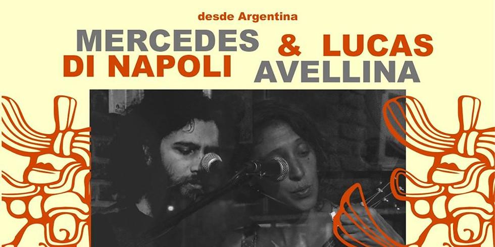 MERCEDES DI NAPOLI Y LUCAS AVELLINA. Música desde Argentina en La Jícara
