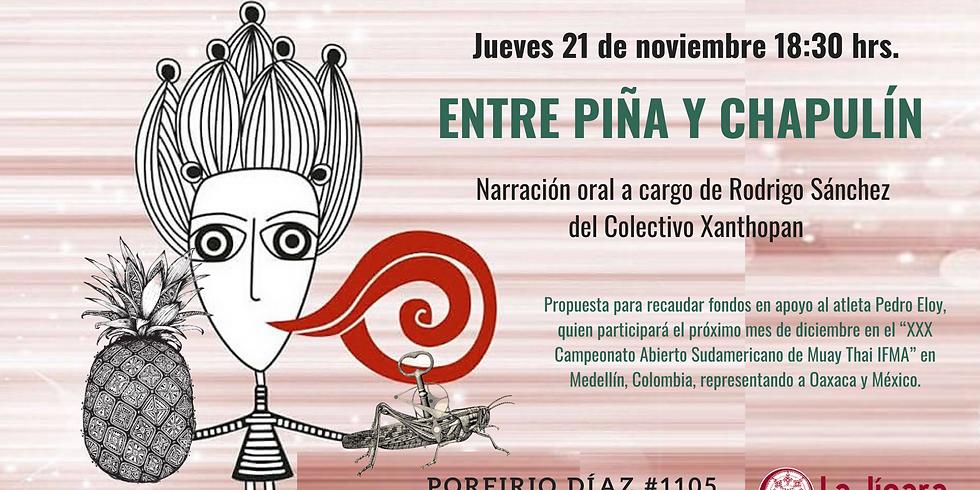 Entre Piña y Chapulín, Narración Oral en La Jícara