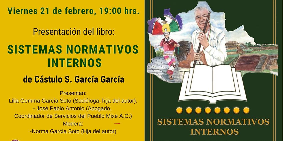Presentación del libro: SISTEMAS NORMATIVOS INTERNOS