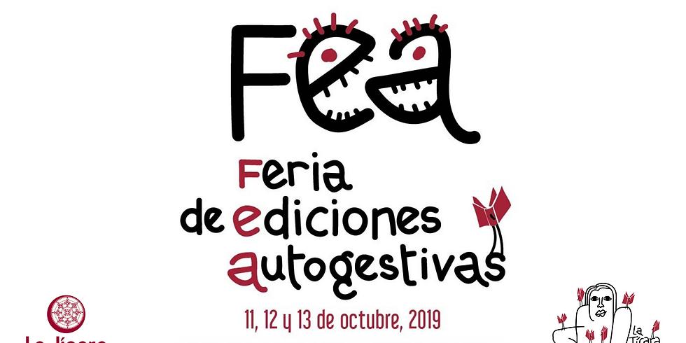 FEA Feria de Ediciones Autogestivas en La Jícara