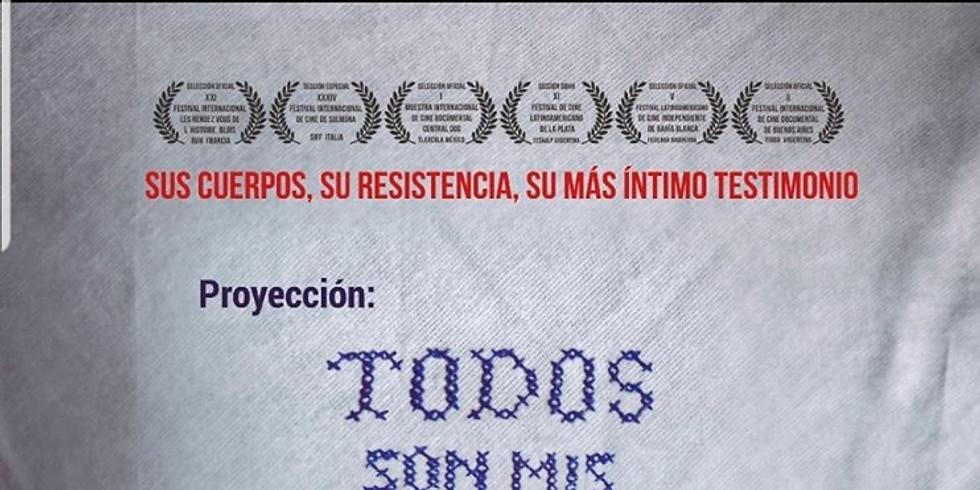 Proyección Documental TODOS SON MIS HIJOS