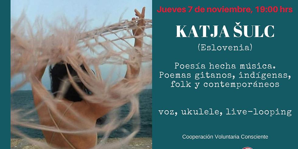 Katja Šulc, Poesía y Cantos Gitanos Contemporáneos en La Jícara