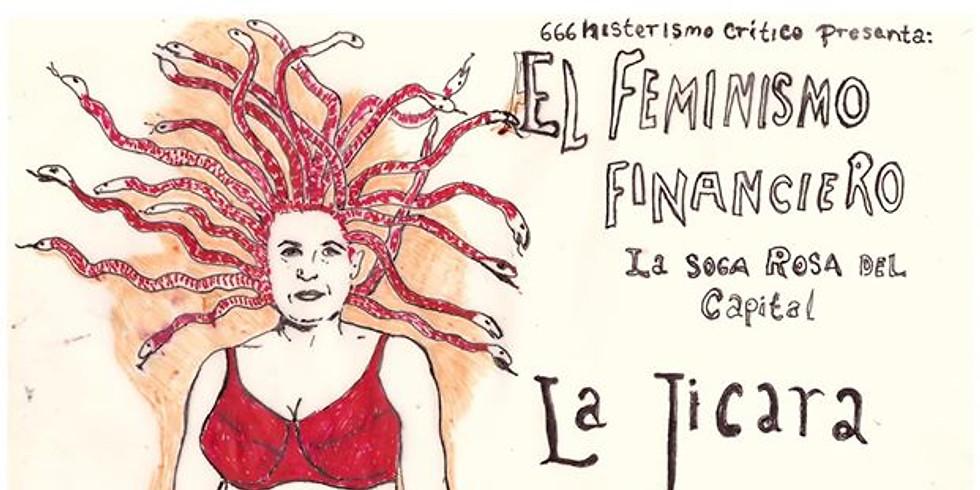 Charla: EL FEMINISMO FINANCIERO. LA SOGA ROSA DEL CAPITAL