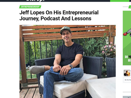 Host of Jeff Knows Inc Podcast was recently featured in Disrupt Magazine.