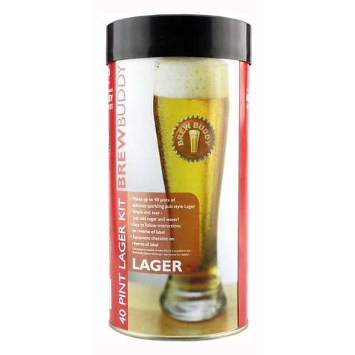 brewbuddy lager  40 pint