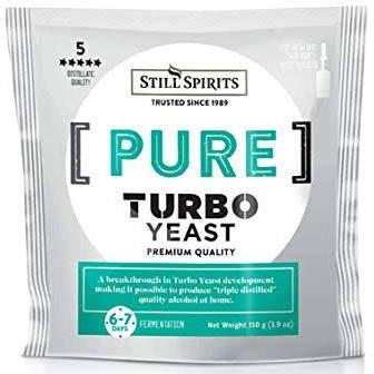 Pure turbo yeast