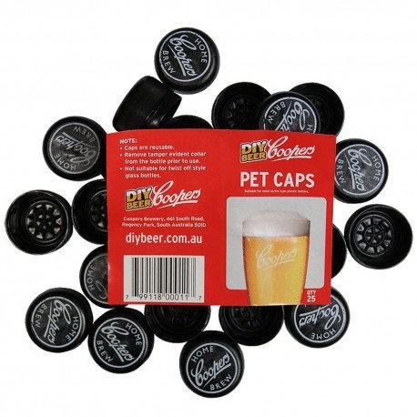 Coopers PET caps (25)