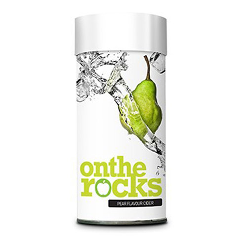 On The Rocks Pear Cider