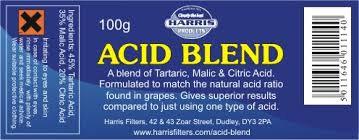 acid blend 100g