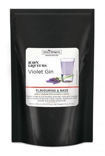 Violet gin