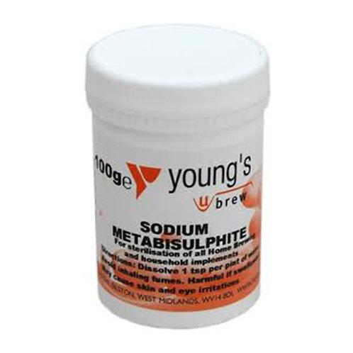 sodium metabisulphite 100g