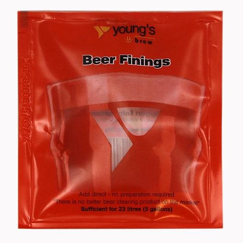 Beer finings sachet