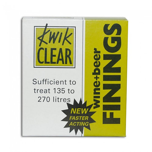 Kwik clear finings (up to 135L)