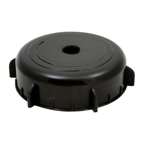 """4"""" Cap with hole"""