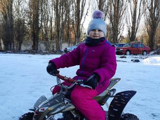 Winterimpressionen von unseren Kindern (Winter 2021)