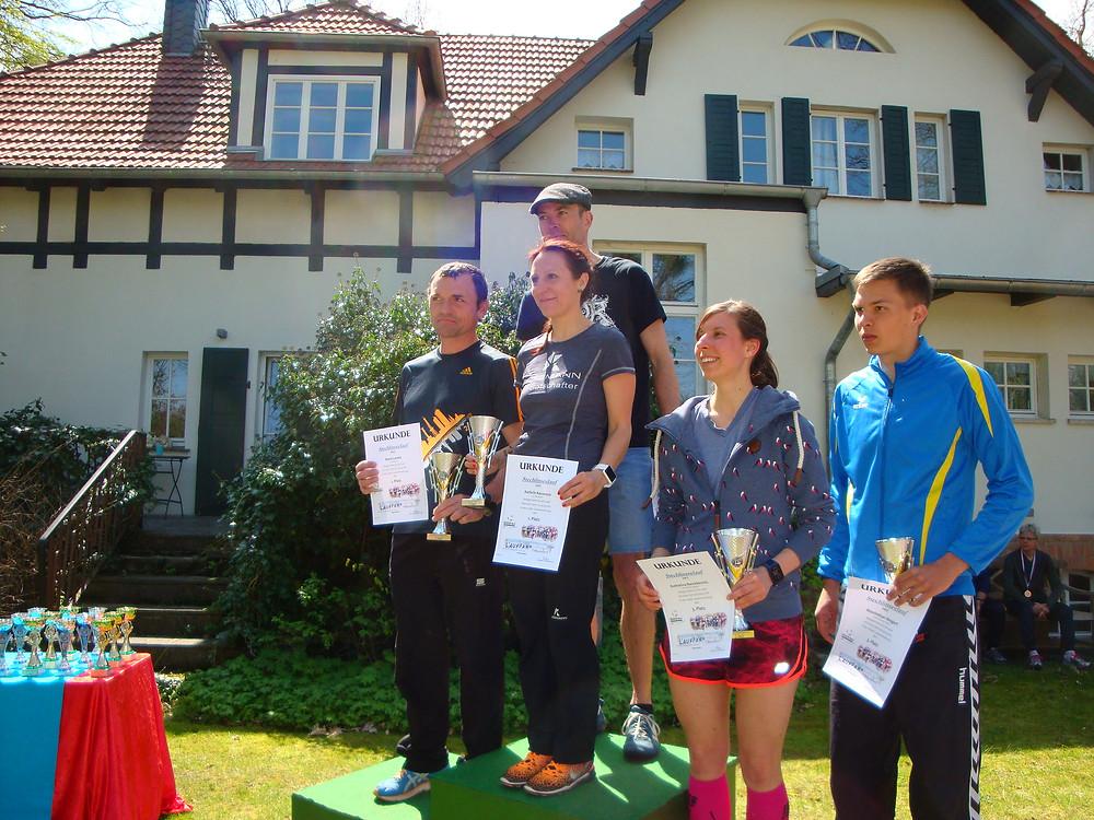 Siegerehrung Gesamtwertung: 8,2 km