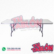 Tablón 240x75cm cubierta de ABS