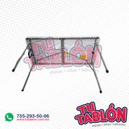 Tablón 120x60cm cubierta de plástico inflado
